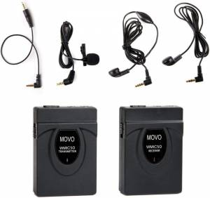 Movo WMIC50 – Best Lavalier Microphone For Film