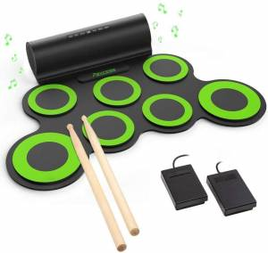 Paxcess Roll Up Drum – Best Electronic Drum Set For Kids