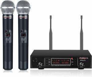 Phenyx Pro PTU – Best Portable Wireless Microphone