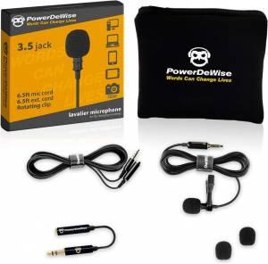 PowerDeWise Lavalier Microphone – Best Lapel Microphone