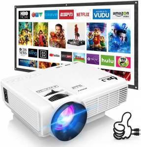 Dr. J Professional HI-04 Mini Projector – Big Entertainment And Advance Features