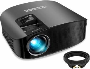 """Projector, GooDee 2021 Upgrade HD - 230"""", 1080P Home Theater Projector"""