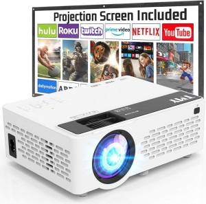 TMY Projector With 100 Inch – Versatile, Noise-reduction, And Compact