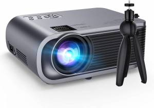 VicTsing WiFi Projector, 5000LUX LED – Compact, Modern, High-quality Picture & Sound