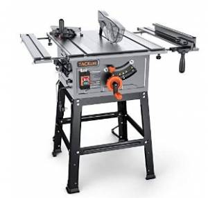 Table Saw, 10-Inch 15-Amp