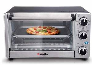 Toaster Oven 4 Slice, Multi-function