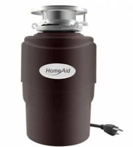 Garbage Disposal 3/4 HP HomeAid HA600