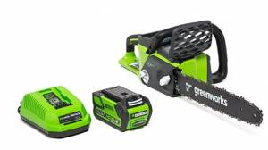 Greenworks 16-Inch Chainsaw – Can Replace Parts And Low-Vibration