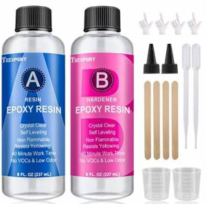 16OZ Epoxy Resin – Crystal – Hard, Very Clear, And Low Odor