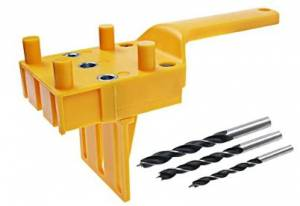 Woodworking Dowel Jig Fits – Quick Dowel, Metal Bushing, And Adjustable