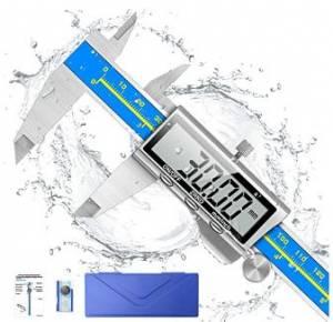 Digital Caliper, Qfun 6 Inch Caliper – Waterproof, Extreme Accuracy, Digital Tool
