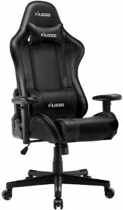 Musso Ergonomic (Black) Gaming Chair – High-Quality Thick Leather