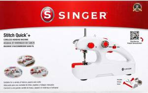 SINGER Stitch Quick + (Two Thread) – Lightweight And Efficient Sewing Companion