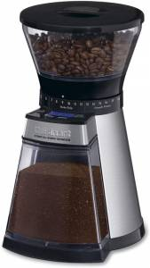Cuisinart Programmable Conical Burr Mill – A Programmable Automatic Appliance