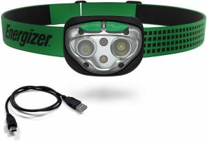 Energizer Rechargeable LED Headlamp – A Headlight For Running, Hiking, & Camping