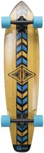 """Quest """"Totem Longboard Skateboard – Pro Quality Material Making It A Strong Performer"""