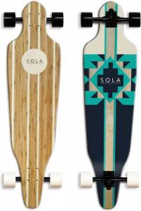 SOLA Bamboo Premium Graphic Design – Bold And Edgy Skateboard